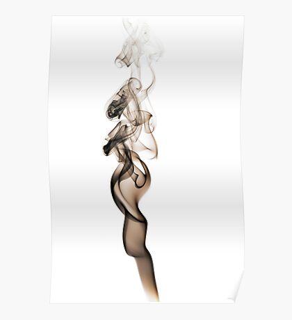 Smoke Art #2 Poster