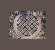 Old and rusty manhole Unisex T-Shirt