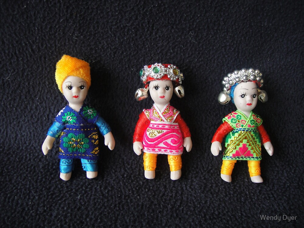China Dolls by Wendy Dyer