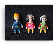 China Dolls Canvas Print