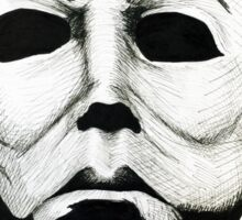 Halloween's The Shape - Michael Meyers Sticker