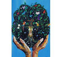 Gaia-Tree of Life Photographic Print