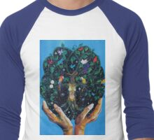 Gaia-Tree of Life Men's Baseball ¾ T-Shirt