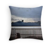 escaping the trenches Throw Pillow