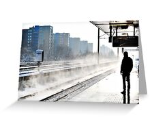 Lonely Traveller Greeting Card