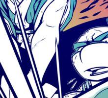 Fight! - Usagi x Leonardo Sticker