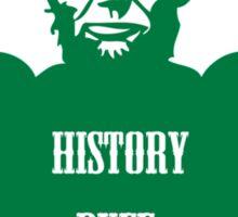 History Buff Sticker