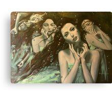 Glissando - World of illusions  Canvas Print
