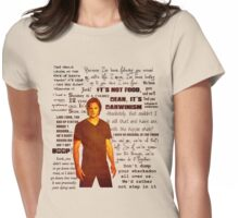 Sam Winchester quotes Womens Fitted T-Shirt