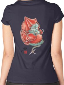 Dharma Dragon Women's Fitted Scoop T-Shirt