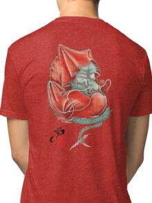 Dharma Dragon Tri-blend T-Shirt