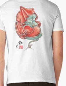 Dharma Dragon Mens V-Neck T-Shirt
