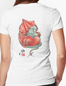 Dharma Dragon Womens Fitted T-Shirt