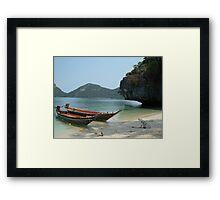 Low Thai'd in Koh Samui Framed Print
