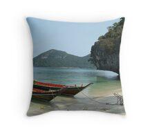 Low Thai'd in Koh Samui Throw Pillow