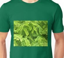 Small, pale, light green leaves Unisex T-Shirt