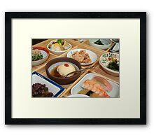 Japanese Dish Framed Print