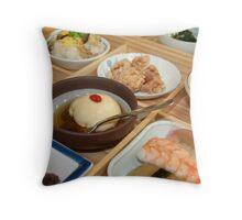 Japanese Dish Throw Pillow