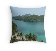 Eastern Archipelago Throw Pillow