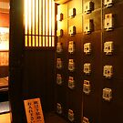 Japanese Restaurant Interior by Bruno Beach