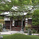 Old Japanese shrine in Kamakura by Bruno Beach