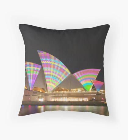 Colour Sails Throw Pillow