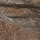 Textured Wood in Kamakura Temple, Japan by Nasko .