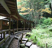 Autumn in Japan - Traditional Japanese Tea Room in Kamakura by Atanas Bozhikov NASKO