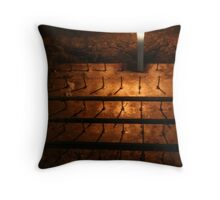 Candle in kamakura, Japan Throw Pillow