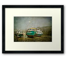 Low Tide at Newquay Framed Print