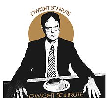 Dwight Schrute, The Office USA.   by stellamanella