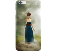 Between the clouds - depression iPhone Case/Skin