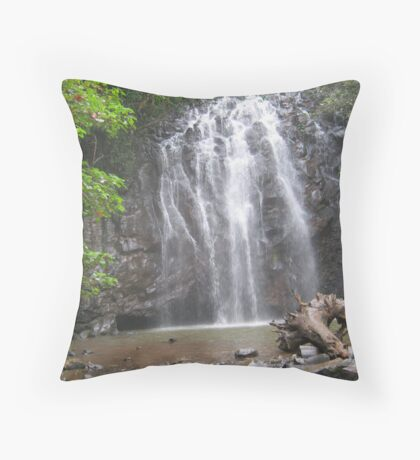 Bleeding Heart at Elinjaa Falls Throw Pillow