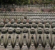 Monk statues in Kamakura, Japan by Nasko .