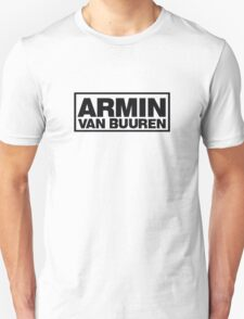DJ Armin van Buuren Cool Logo Products!  T-Shirt