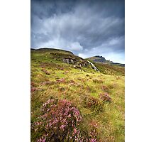 Bealoch Mor and Storr Photographic Print
