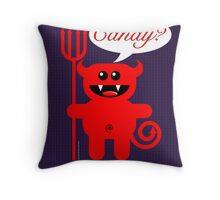 CANDY? Throw Pillow
