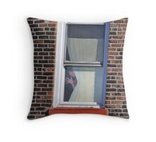 NYC: Hi there.... Throw Pillow