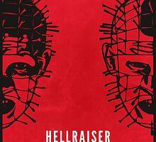 Hellraiser Minimal Poster Redesign by johnhayward