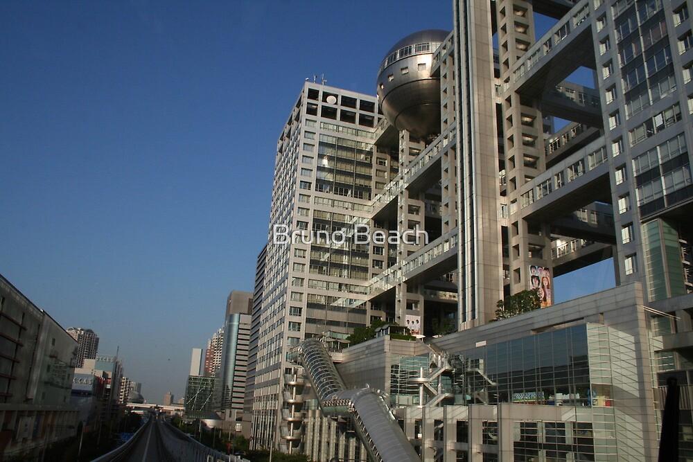 The TV  Building in Tokyo, Japan by Atanas Bozhikov NASKO