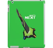 Who's NEXT? [Green] iPad Case/Skin