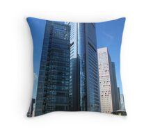 Tokyo City Throw Pillow