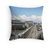 Tokyo Olympic City Throw Pillow