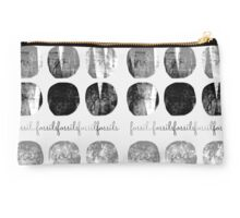 Circle Fossils You and Me Studio Pouch