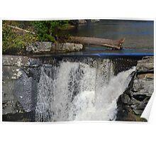 Bushkill Creek at Ressica Falls Poster