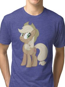 Applejack lies Tri-blend T-Shirt
