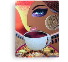 Evening coffee Canvas Print