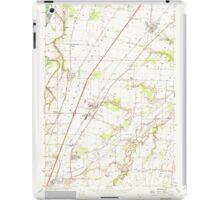 USGS Topo Map Oregon Gervais 280014 1957 24000 iPad Case/Skin