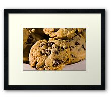 Chocolate Chip Framed Print