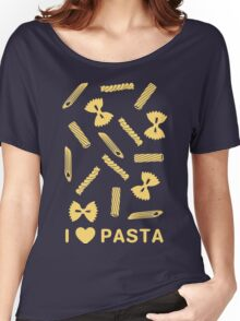 I love pasta paste species Women's Relaxed Fit T-Shirt